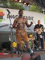 Afrikafest Ingolstadt mit Musik, Ständen und Info-Zelt