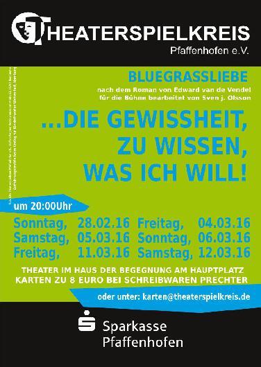 Bluegrassliebe; Coming-Out-Stück in Pfaffenhofen