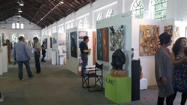 Begegnung mit Kunst und Künstlern: Kunstmesse Ingolstadt