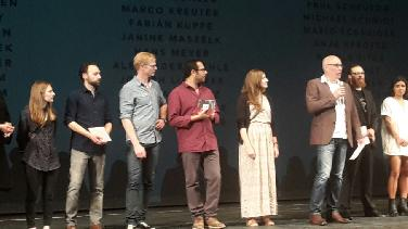 Preisverleihung bein Internationalen Shortfilm-Festival