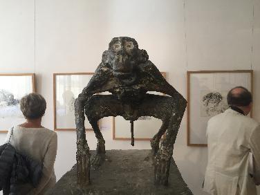 Arbeiten von Rudolf Koller im Diözesanmuseum