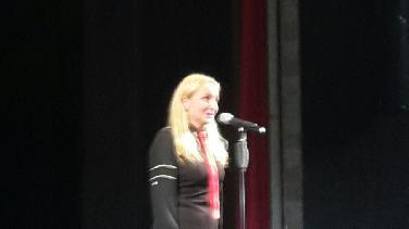 Rotary-Publikumspreis für Schauspielerin Teresa Trauth