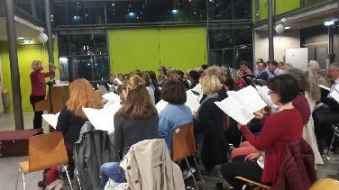 Motettenchor probt für Herbstkonzert Motetten