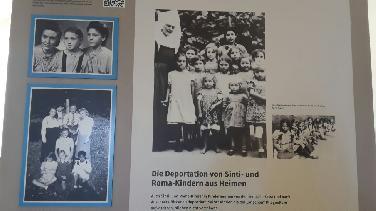 "Ausstellung ""Völkermord an den Sinti und Roma"""