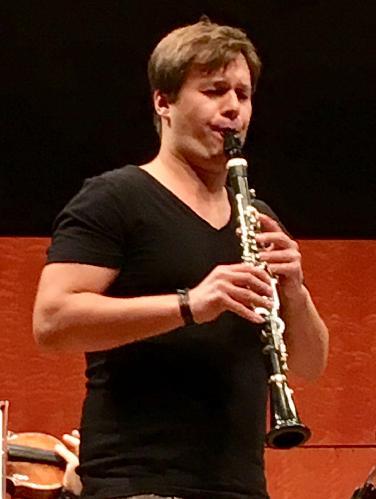 Sebastian Manz ( Klarinette )  gastiert bei GKO IN