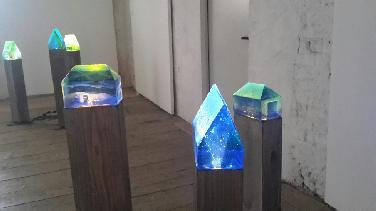 """""""Fragil"""": Glaskunst von Brigitte Schuster"""
