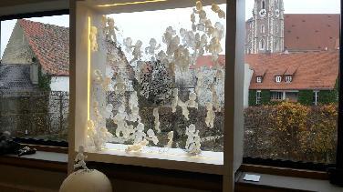 Med.hist. Museum:Ueberschärs Installation zum Krippenweg