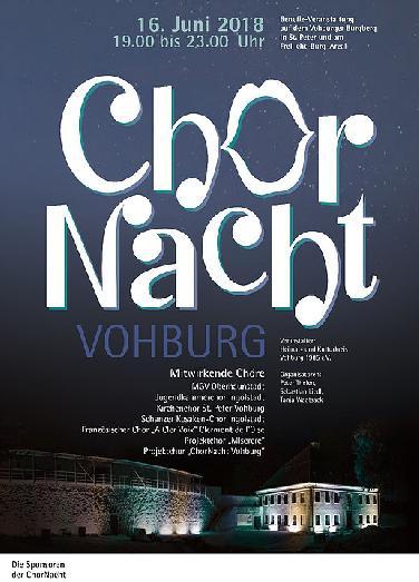 Chornacht am 16. Juni auf Burgberg in Vohburg