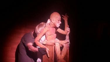 """Gastspiel """"Frankenstein""""-Figurentheater im DMM"""