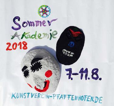 Kinder machen Kunst - Sommerakademie in Pfaffenhofen
