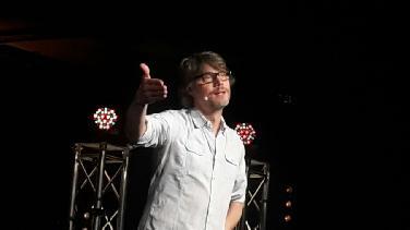 Christoph Sieber bei den Kabaretttagen
