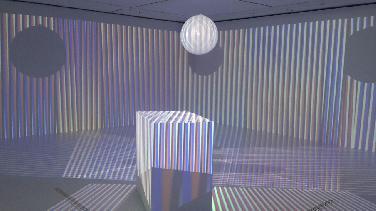Cruz-Diez, Weltstar der Op-Art, im Museum Konkrete Kunst