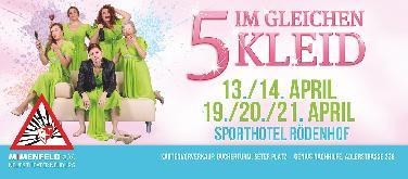 """Theater Mimenfeld NB spielt """"5 im gleichen Kleid"""""""