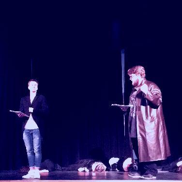 """Dracula"" - Oberstufentheater Descartes-Gym ND"