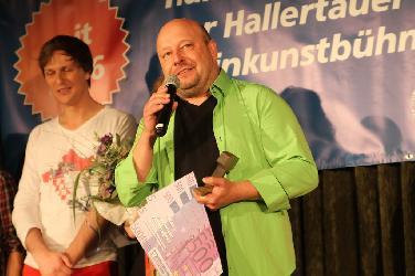 Wolfgang Kamm gewinnt Hallertauer Kleinkunstpreis 2018