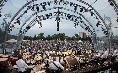 Audi -Sommerkonzerte starten mit den Open-Air- Konzerten