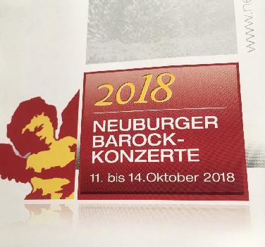 Programm der 71. Neuburger Barockkonzerte