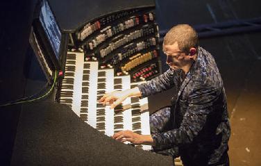 Organist Cameron Carpenter im Gespräch
