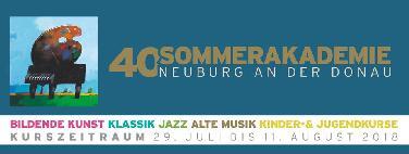 Jazz im Rahmen der 40. Sommerakademie