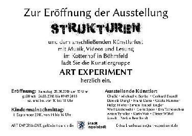 "Ausstellung ""Strukturen"" im Böhmfelder Kotterhof"