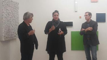 Seliger und Dahlhausen in Galerie Mariette Haas