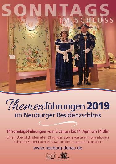 Neue Reihe: Sonntags im Schloss Neuburg