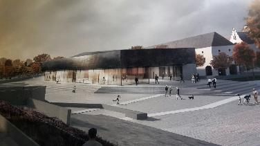 Architekturentwürfe zum Neubau Kammerspiele ausgestellt