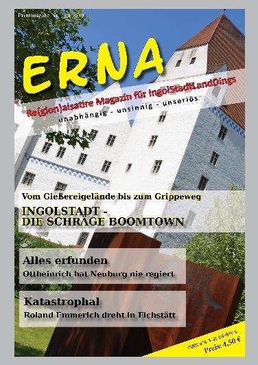 "Neues Satiremagazin ""Erna"""