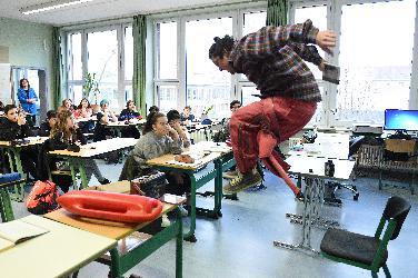 """Mit """"Jump!"""" springt das Junge Theater ins Klassenzimmer"""