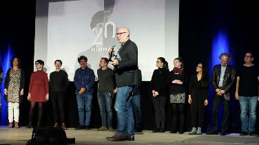 Preisverleihung beim Kurzfilmfestival 20minmax