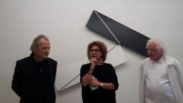 Hellmut Bruch und Gerhard Frömel in der Galerie Haas