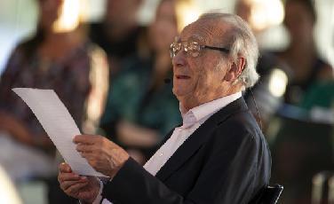 Pianistenlegende Alfred Brendel gab Konzerteinführung