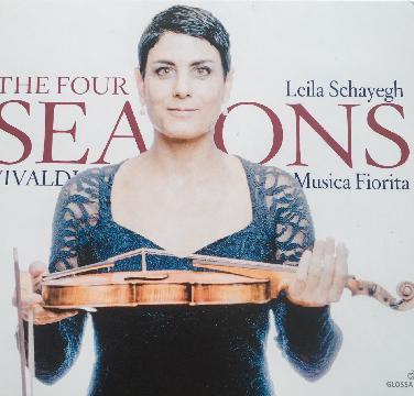 Leila Schayegh ( Violine) über ihre neue CD-Vivaldi ...