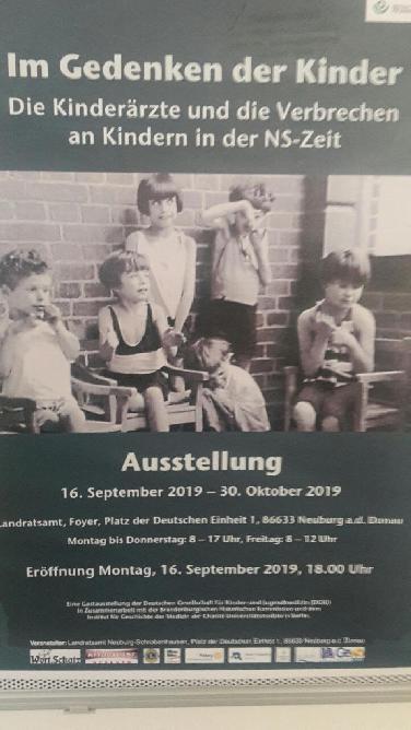 """""""Im Gedenken an die Kinder"""": Ausst. z. Kinder-Euthanasie"""