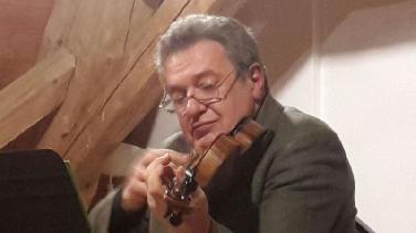 Im Portrait: Komponist und Geiger Igor Loboda