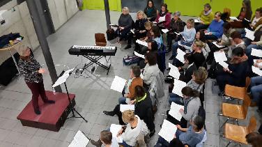 """Motettenchor singt Händels """"Judas Maccabäus"""""""