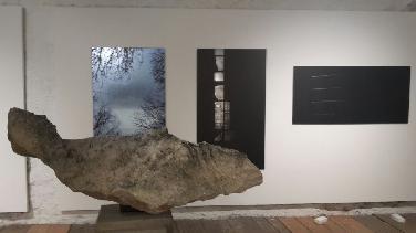 Ausstellung Ludwig Hauser:im Dialog mit Stein u. Asphalt