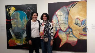 Gemeinschaftsbilder des Künstlerinnen-Duos Petalee