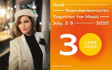 Jubiläumsprogramm: 30 Jahre Audi - Sommerkonzerte