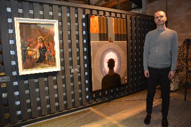Kunst von Nikola Saric im Diözesanmuseum Eichstätt