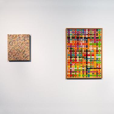 Call for Art: Gummiringbild von Beat Zoderer