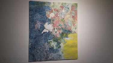 Malerei von Christine Fuchs, Fotografie von Sigi Dengler