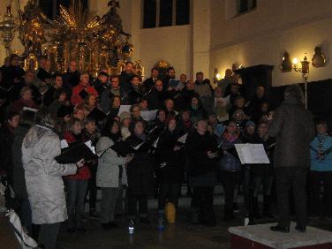 A-Capella-Adventskonzert in der Moritzkirche am 7.12.,