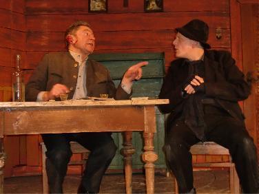 Theaterbühne Langenbruck zeigt: Der Brandner Kaspar