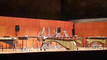 Schlagzeug-Wettbewerbskonzert v. Konzertverein