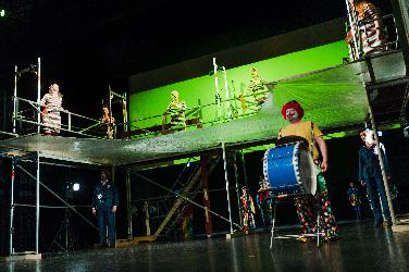 Junge Oper Neuburg mit Pagliacci im Stadttheater