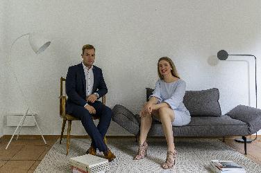 """Die Ausstellung """"Concrete blue"""" Galerie KU Eichstaett"""