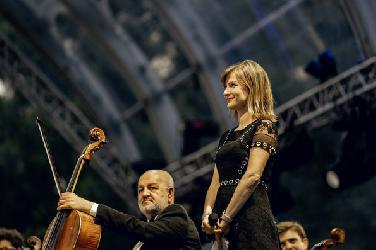Lisa Batiashvili - ein Fest für Musik und Lebensfreude