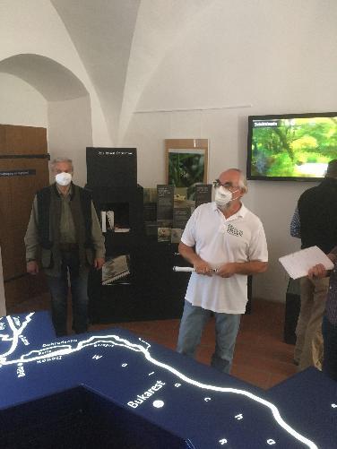 Ausstellung im Auenzentrum ND über Wasserdrachen