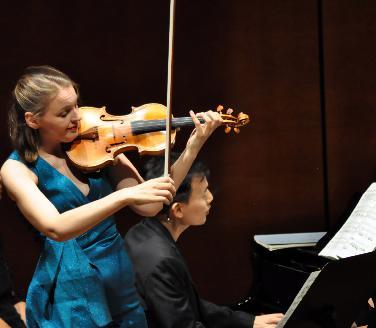 Franzika Hölscher und William Youn -Konzertverein IN